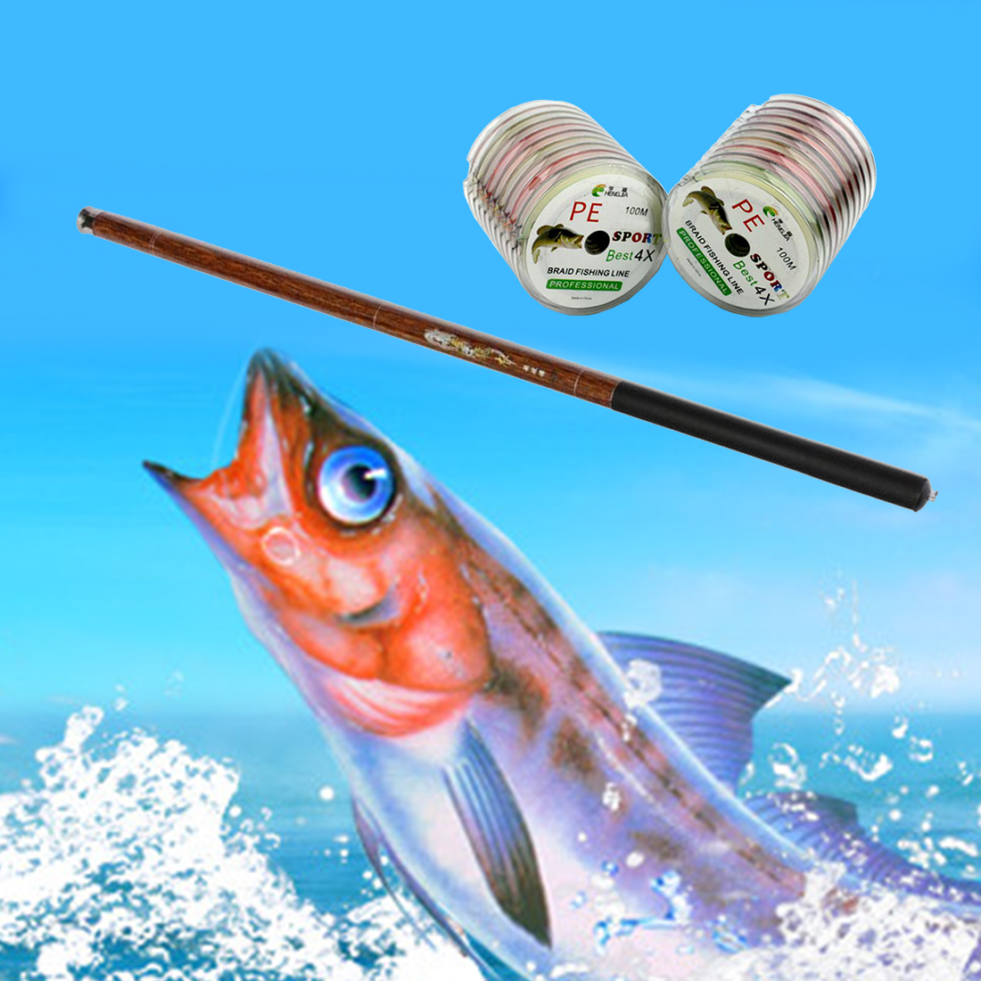 Hot Ultralight Hard 3.6/4.5/5.4/6.3/7.2 Meters Stream Hand Pole Carbon Fiber Casting Telescopic Fishing Rods pesca Tackle