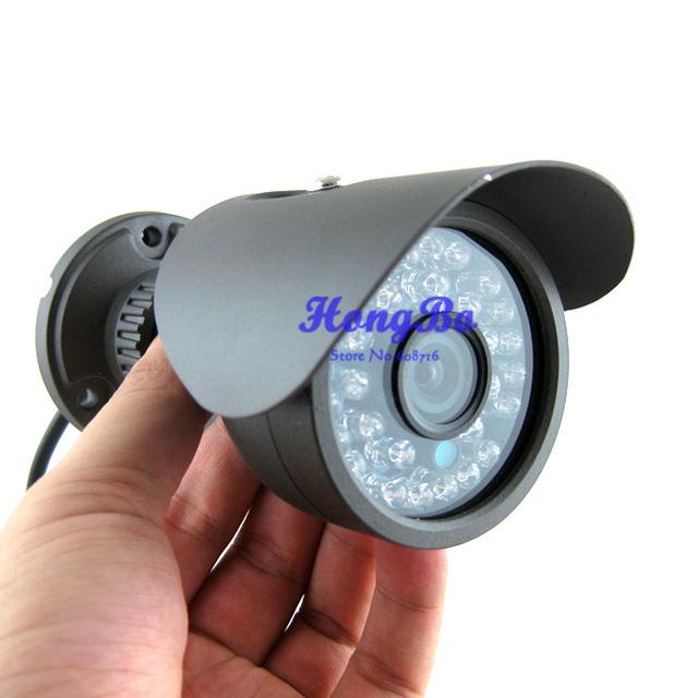 Câmera de vídeo CCTV CMOS 420TVL 36 leds exterior / interior impermeável segurança CCTV câmera frete grátis, Transporte da gota