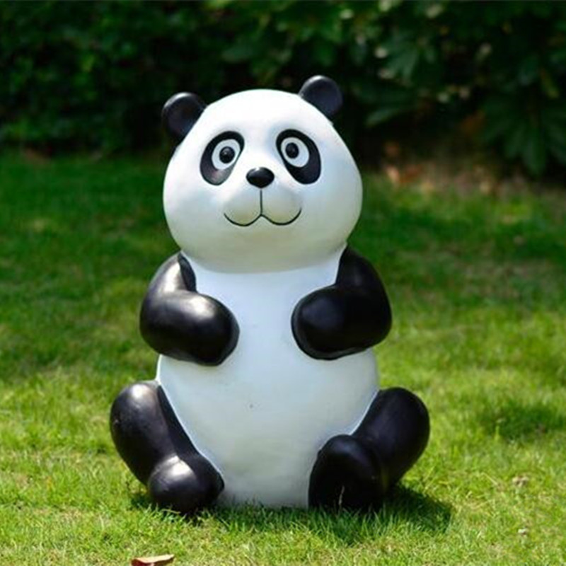 High Quality Classical Resin Gift Panda Garden Decoration Artificial Rare  Animal Pandas Don Home Ornament Villa Decor Regalo In Figurines U0026  Miniatures From ...