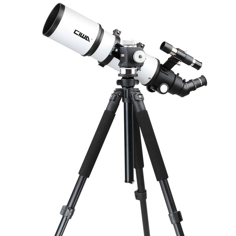 CIWA Monocular Astronomical Telescope Optical Refractor Design Portable Tripod Space telescopic Outdoor Professional Telescope gskyer telescope 600x90mm az astronomical refractor telescope german technology scope power astronomical mirror telescope