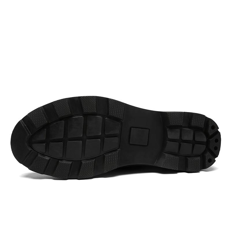 Hiver Haute Vintage Cuir Garder Yoylap De Suédé Neige Noir Noir Marque Mode Au En Chaussures Bottes Hommes marron Chaud Classique Qualité wTTfYZxA