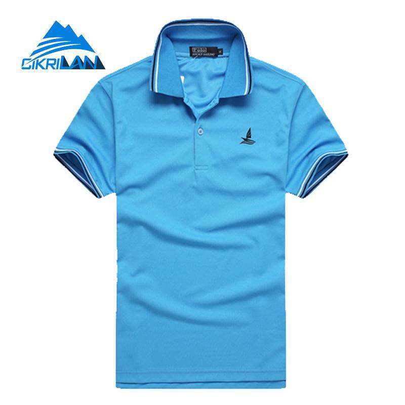 2019 Summer Football Basketball Loose Shirts Short Sleeve Outdoor Sport Polo Shirt Men Outdoor Shirt Quick Dry Hiking T Shirt