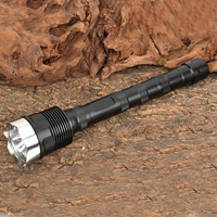 Ultrafire Portable Flashlight XM LT6 18000LM 5 Mode LED Flashlight Torch Hunting LED Camping Tactical Switch 18650 Flashlight