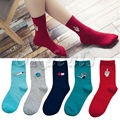 1 Pair Fashion Cute Women Girls  Harajuku Candy Color Casual Cute Cartoon Cotton Warm  Socks 2016 Hot