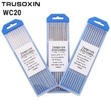 цена на 10 pcs gray color code 1.6 * 175    cerium tungsten electrode head tungsten needle/wire for the TIG WSME SUPER welding machine