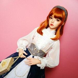 Image 4 - 人形 bjd ナオミ 1/3 樹脂フィギュアファッション女性の身体のおもちゃベスト誕生日 gif
