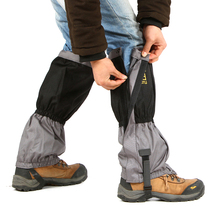 Бесплатная доставка утолщение удлиняется гетры защиты ног 600D оксфорд охота снег леггинсы гетры 1 пара