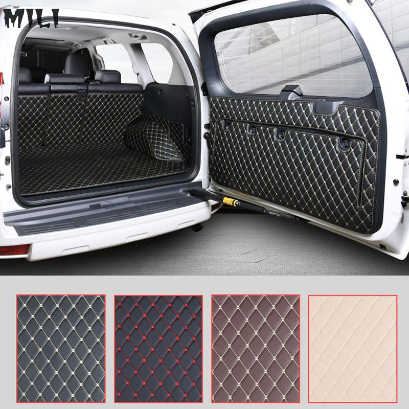 Car Rear Trunk Floor Mat Durable Boot Carpets For Toyota Land Cruiser Prado 150 2010 2011 2012 2014 2014 2015 2016 2017 2018