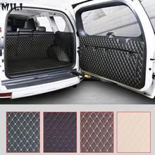 Tapete traseiro do porta-malas do carro, tapete de bota durável para toyota land cruiser prado 150 2010 2011 2012 2014 2016 2017 2018