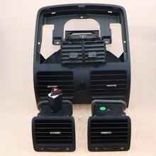Todo o Conjunto Do Carro Ar Condicionado A/C Saída de Ventilação & interruptor De Alarme Para Coelho VW Golf Gti Jetta 1KD 819 704 1KD 819 703 1KD 819 728