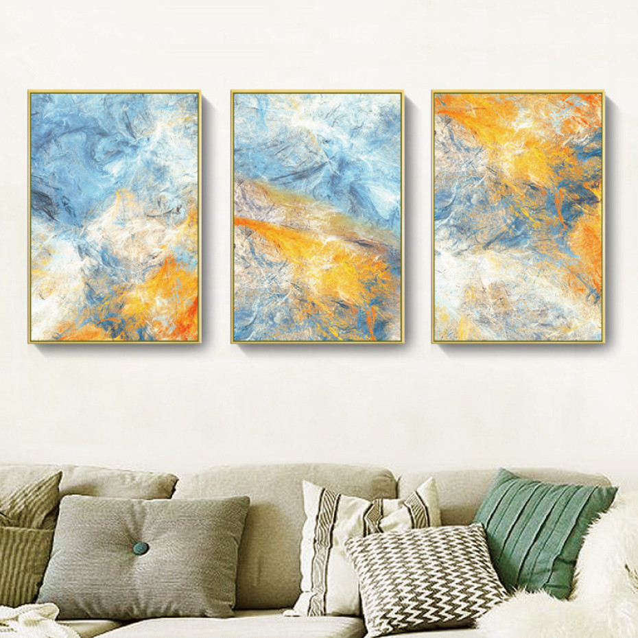 Abstract Painting Landscape Posters And Prints Wall Art Canvas Oil Painting Decoration Pictures