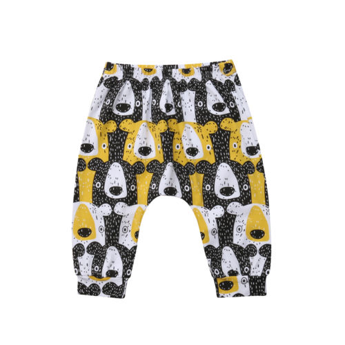 Yellow Pizzly - Unisex Baby Pants