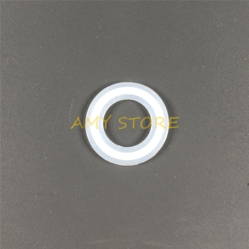 Silicone Sealing Fit For 38mm Pipe O/D Sanitary Fit 1.5 Tri Clamp Strip Gasket Ring Washer For Homebrew Outer Diameter 50.5mm image
