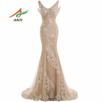 Free Shipping 2016 Long Formal Evening Dress Elegant Gown Party Vestido De Festa Longo Bridal Dresses
