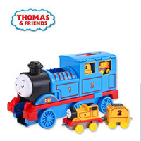original Thomas and Friends Anime Toy Diecasts Toy Vehicles Track combination slide storage Brinquedos Toy for children