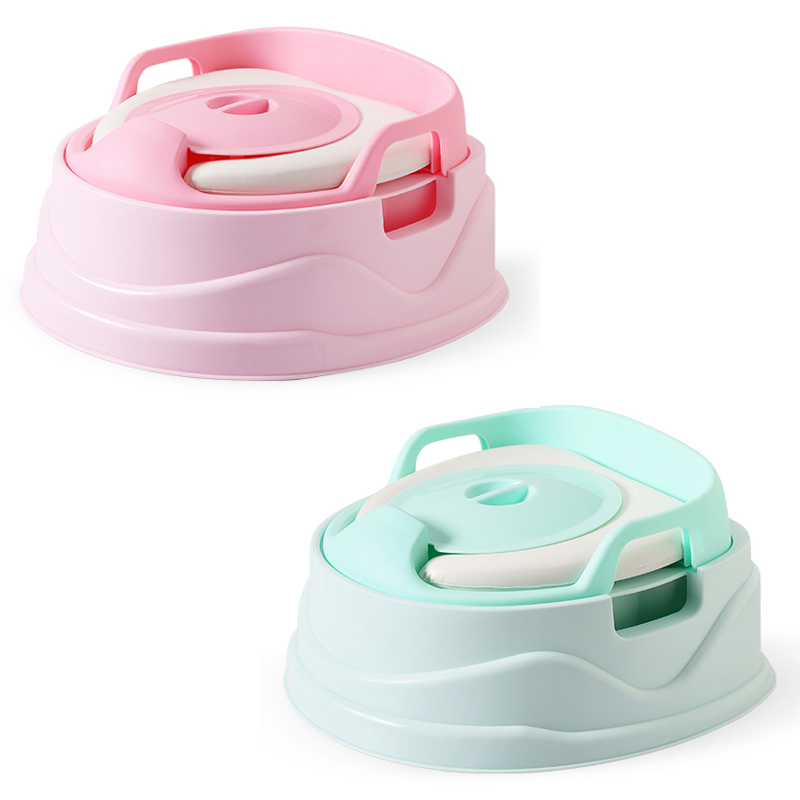 2018 New Products Fashion 3 In 1 Soft Baby Potty Seat Pee Toilet Training