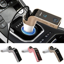 4-in-1 Handsfree Wireless Bluetooth FM Transmitter G7 + AUX
