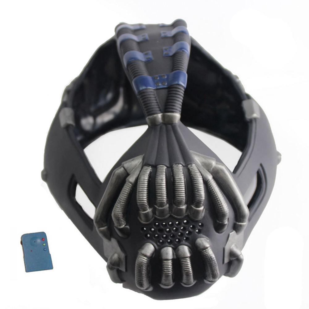 Coslive Batman Mask Bane Half Face Mask Change Voice The Dark Knight Rises Cosplay Costume Accessories Prop 2