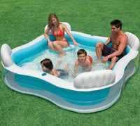 INTEX back seat paddling pool oversized family pool swimming pool piscina zwembad colchonetas inflables piscina pi