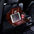 Quality car back seat tablet holder rear seat headrest table foldable computer tablet phone stands drink cup holder 1pc