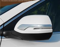 for 2012 2016 Honda CRV CR V Rear View Mirror Trim ABS Chrome Side Mirror Protector Strip