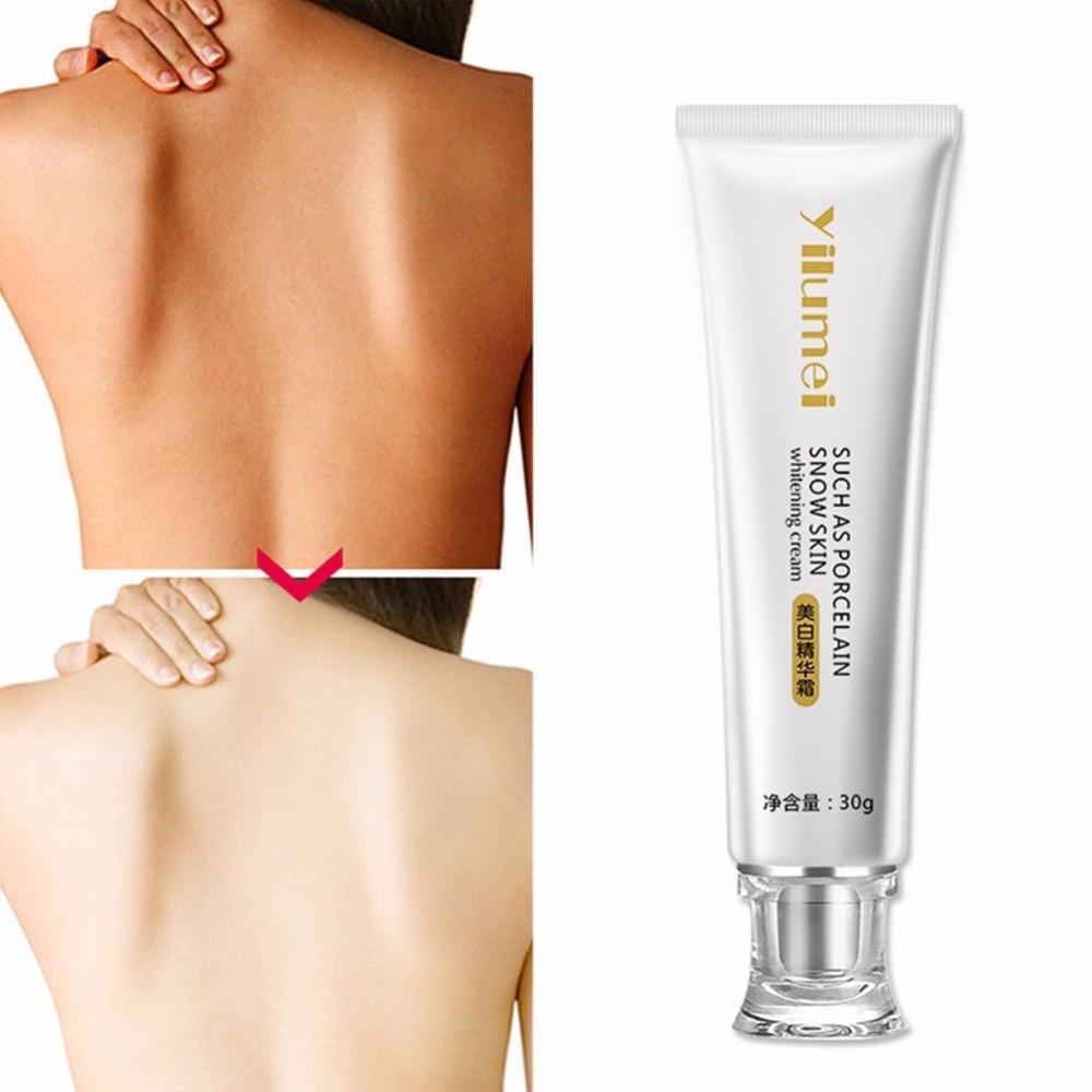 Drop Ship 30g Skin Whitening Cream Hand Neck Knee Leg Whitening Lotion Bleaching Cream Moisturizing Winter Body Skin Care TSLM1
