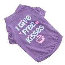 purple pet cat dog clothes