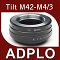 Pixco поворотный кронштейн переходное кольцо костюм для M42 объектив микро 4/3 для G10 GF3 GH3 E-PL3 E-PM1 E-PL2 E-PL1 E-P2 E-P1 e-м1 камеры