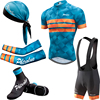 Phtxolue Summer Cycling Set Men Bike Clothing Bicycle Wear Maillot Ropa Ciclismo Short Sleeve Cycling Jersey Sets