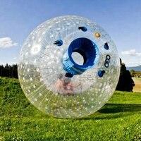 2,5 м Диаметр надувной шар-Зорб человека Размер хомяка для людей внутри дешевая надувной Зорб ing цена популярный из ПВХ стеклянный шар