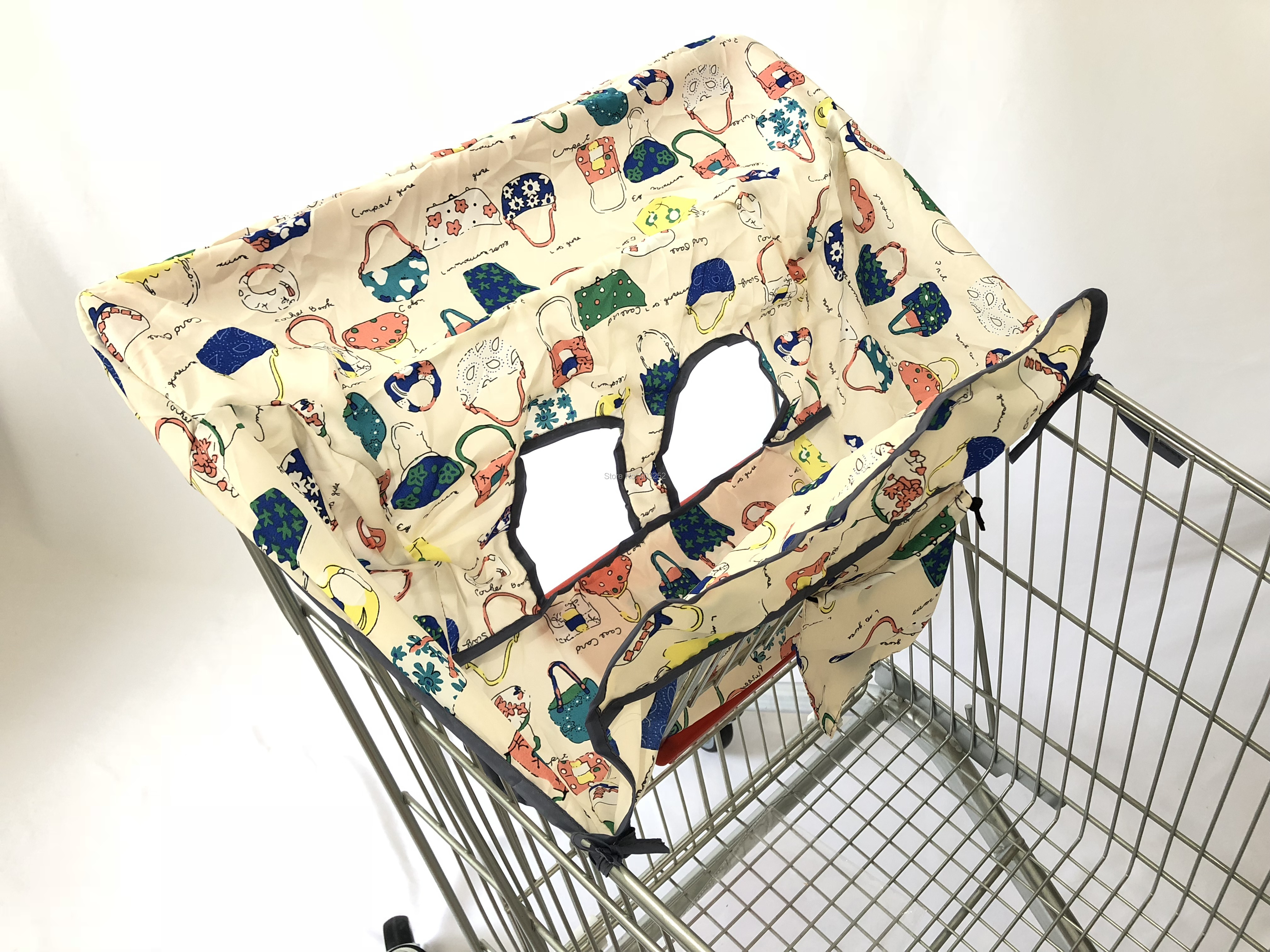 [Материал, имитация шелка] 3 цвета, качественный чехол для покупок и стульчик для кормления для младенцев и малышей