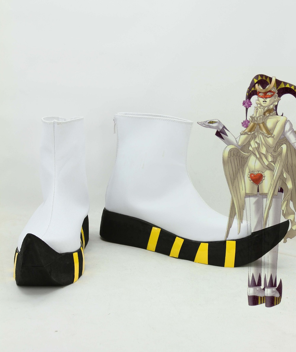 0 female costumes customize cos Persona 2: Tsumi Joker COSPLAY customized cos Persona 2: Tsumi Joker shoes boots costumes