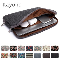 2019 New Brand Kayond Sleeve Case For Laptop 11,12,13,14,15,15.6,17 inch,Bag For MacBook Air Pro 13.3,15.4 Free Drop Shipping