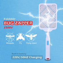 Electric Mosquito Swatter Foldble Bug Zapper Portable Fly flying insect Killer Pest Control Charging type