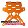 alu electric Motorcycle Scooter License Plate Bracket Holder Number Hanger Tail Tidy Bracket For Honda Yamaha