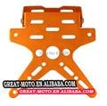 alu electric Motorcycle Scooter License Plate Bracket Holder Number Hanger Tail Tidy Bracket For Honda Yamaha