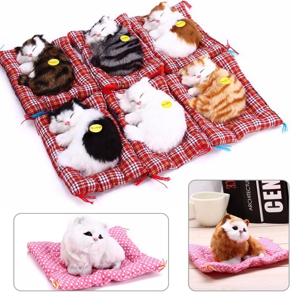 Plush Toys Product : Stuffed toys lovely simulation animal doll plush sleeping