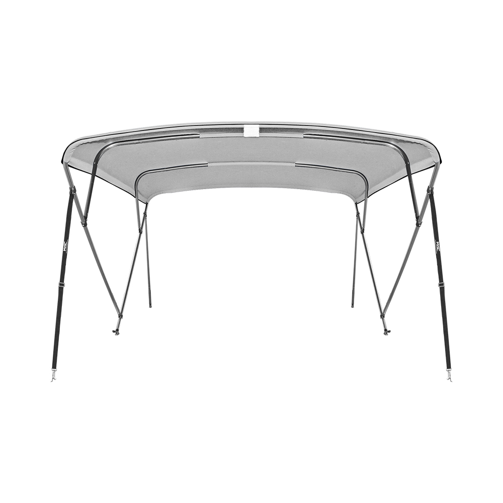 4 Bow Aluminum 25mm Round Tubes Bimini Top UV Waterproof 600D Boat Cover with Boot and Hardware,8'x61-66x54,243x155-168x137cm душевая стойка clever bimini 97057