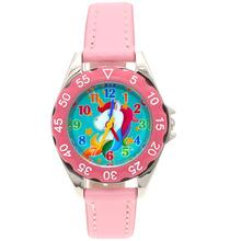 Cute Unicorn ladies Watch for Kids Girls Boy Leather Wristwatch Casual dress Fashion Children Learn Time Watch U85B Hot Popular