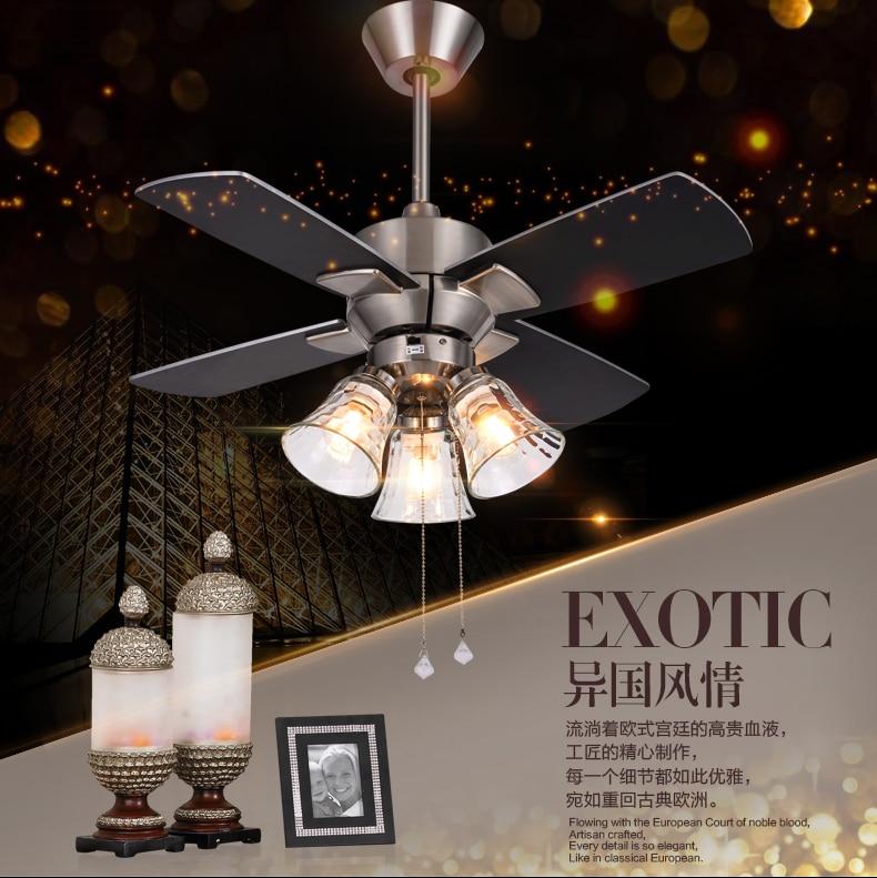 Lights & Lighting Ceiling Lights & Fans Reasonable Led Ceiling Fan Light Dining Room Living Room American Minimalist Modern Ceiling Fan Light