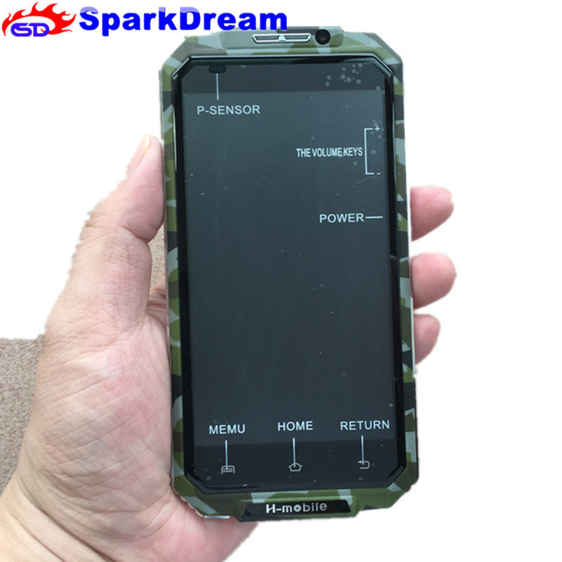 Original H-mobile V6 Plus 5.0 Quad Core MTK6580 Android 5.0 1GB RAM + 8GBROM 3G WCDMA GPS Smart Phone