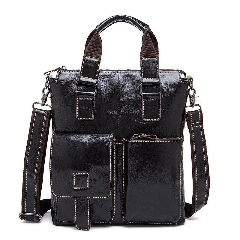100% Genuine Leather Men Bag Crossbody Cowhide Shoulder Bags Mens Messenger bags Handbags Top Quality Leather Men Bag 2016 new