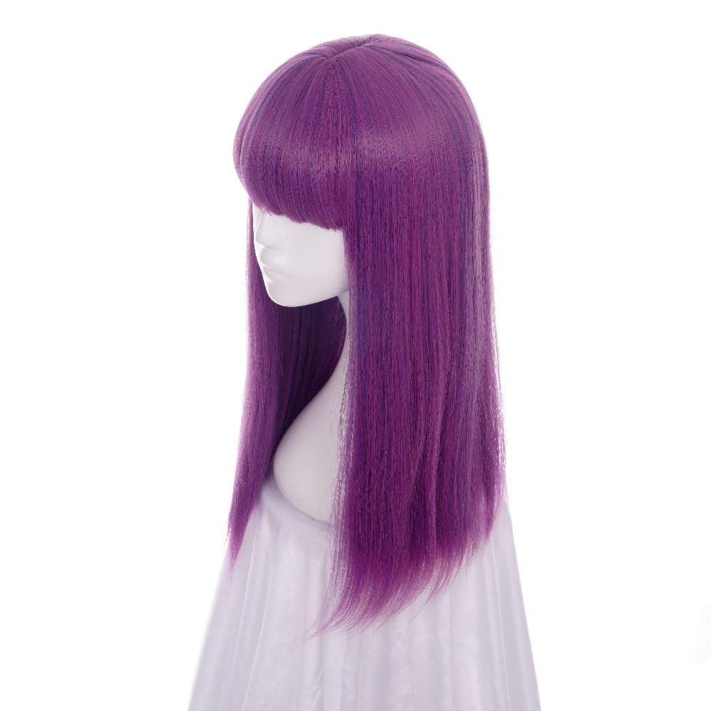 ccutoo Απογόνους 2 Μικρές 60 εκατοστά Μωβ - Συνθετικά μαλλιά - Φωτογραφία 2