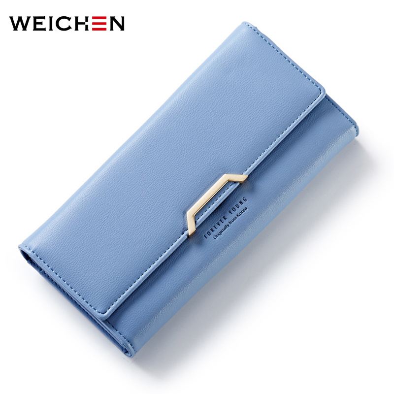 High Capacity Fashion Women Wallets Long  PU Leather Wallet Female Clutch Coin Purse Ladies Money Bags Brand Cute Card Wallets  bvlriga women wallets famous brand leather purse wallet designer high quality long zipper money clip large capacity cions bags