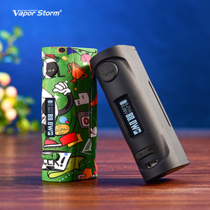 Image 2 - Vapor Storm Puma Baby 80W VW TC Box Mod Vape Mod Fashion Easy Take Support 18650 Battery Electronic Cigarette RDA RDTA Vaper Kit