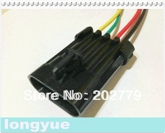 longyue 2pcs D580 LS1 LS6 Ignition Coil Pigtail connector ACDelco ...