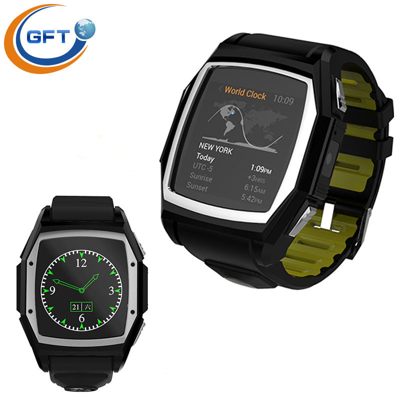 GFT GT68 wearable devices Latest Bluetooth Smart Watch font b Smartwatch b font GSM SIM Card