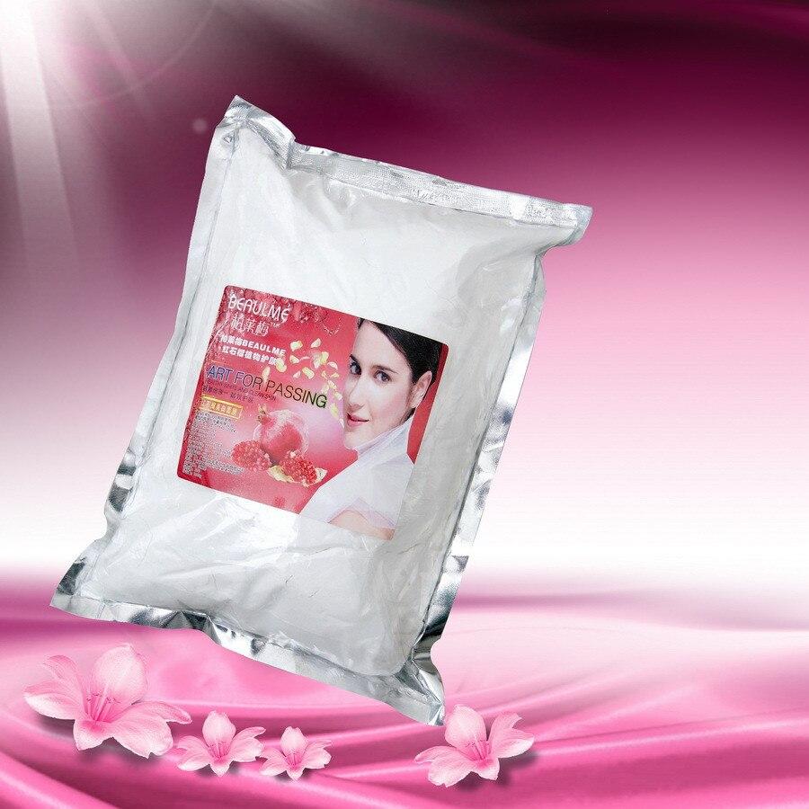 Grenade rouge blanchissant doux masque Facial en poudre hydratant soins de la peau équipement hospitalier 1000 ML masque Facial fait maison