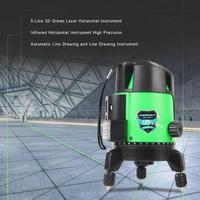 5 Lines 3D Self leveling High Precision Green Beam Laser Level Measuring Instrument Lazer Meter For Construction Tool