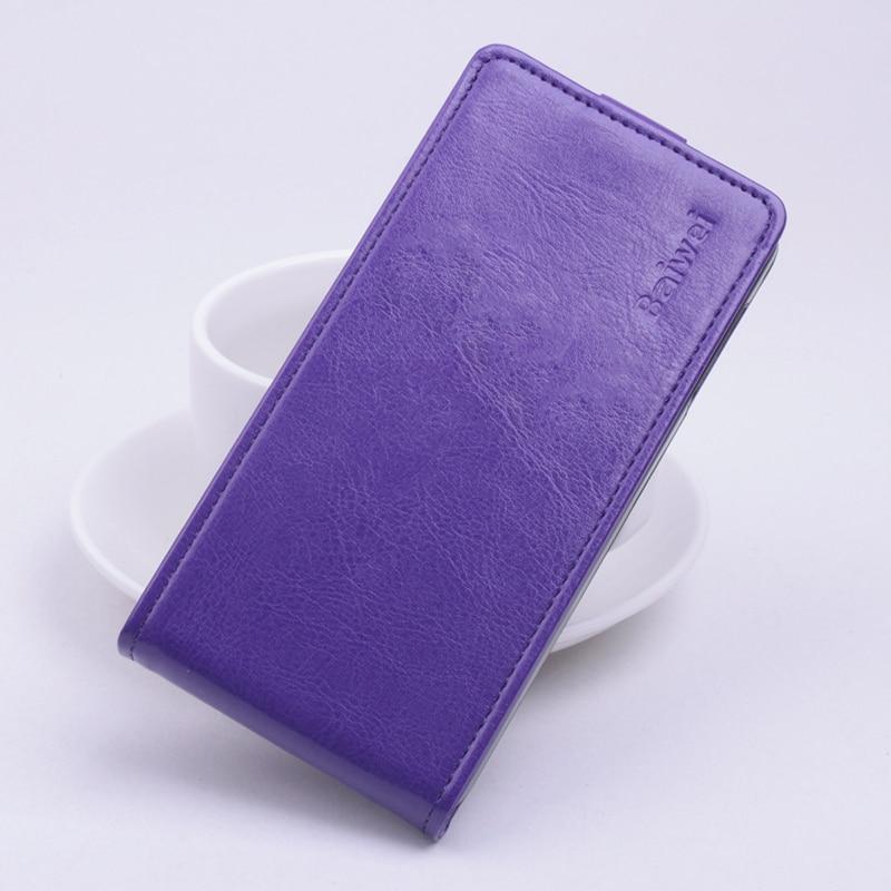 Luxury Balik Kulit Tutup Kasus untuk Alcatel One Touch Pop 2 Pop2 M5 - Aksesori dan suku cadang ponsel - Foto 6